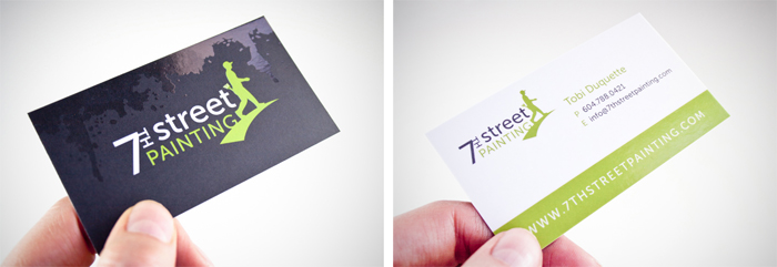 7th Street Painting Business card