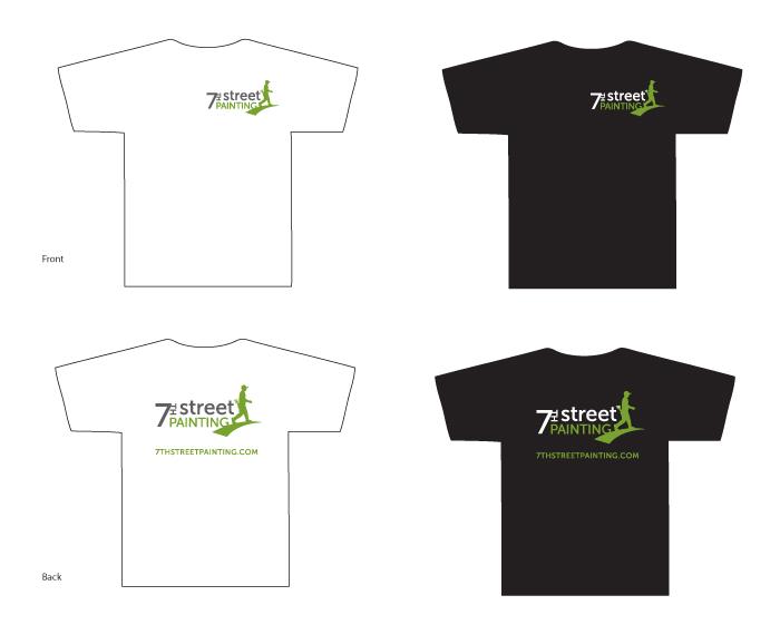 7th Street Painting shirts